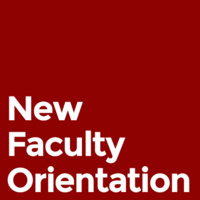 New Faculty Orientation