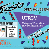 College of Education and P-16 Integration Community Open House
