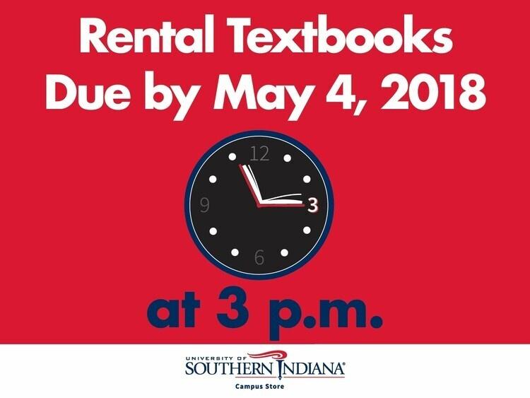 Rental Textbook Return/Buy-Back At University Center