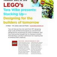 School of Design Talks: LEGO's Tara Wike