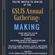 GSLIS Annual Gathering: Making