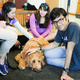 Final Bark Buddies event at Norlin Library