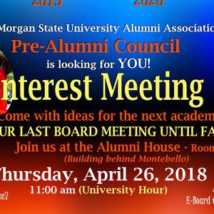 Pre Alumni Council