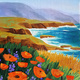 California Coast - Paint & Sip class - TGIF Special ONLY $35 - BYOB