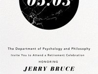Retirement Celebration for Dr. Jerry Bruce