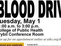 College of Public Health Blood Drive
