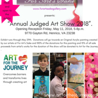 For Art's Sake presents: The Annual Student Show