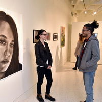 Reception and  Award Ceremony  for SUNY Oswego Juried Student Art Exhibition