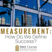 Measurement: How Do We Define Success?