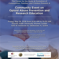 A Community Event on Opioid Abuse Prevention and Research Education