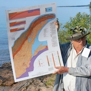 Geotour: Jacobsville Sandstone and Keweenaw Bay