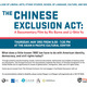 The Chinese Exclusion Act Film Screening