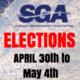 SGA ELECTIONS 2018-19