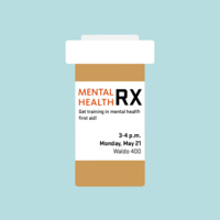 MENTAL HEALTH RX: Get training in mental health first aid