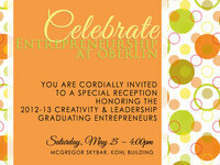 Open Reception to Celebrate Entrepreneurship at Oberlin