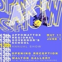 13th Annual Appomattox Regional Governor's School Art show