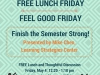 Feel Good Friday: Finish the Semester Strong!