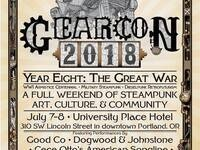 GEAR Con 2018:  The Great War