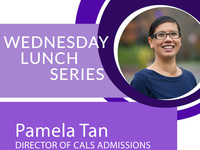 AASP and A3C Wednesday Lunch Series featuring Pamela Tan