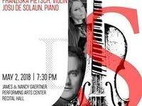 Faculty and Guest Artist Piano Recital, De Solaun and Franziska Pietsch