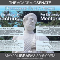 2017-2018 Academic Senate Distinguished Faculty Awards