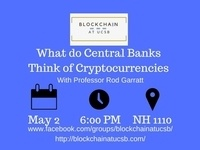 What Do Central Banks Think of Cryptocurrencies (with Professor Rod Garratt)
