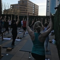Roof Top Yoga and Happy Hour