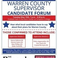 Warren County Supervisor Candidate Forum