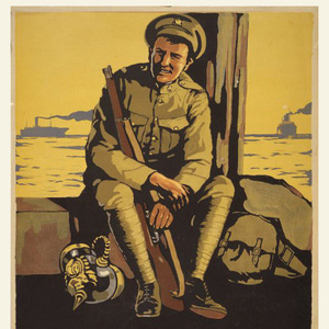 American and French Posters from The Great War & Shell-Shocked
