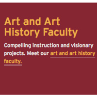 Art & Art History reception