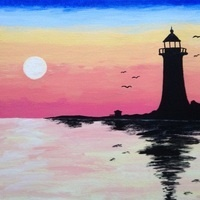 Paint N' Sip Class at Bistro 33