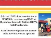 UCCS at Colorado Springs PrideFest