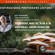 Distinguished Professor Lecture - Joey Spatafora