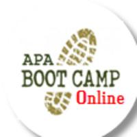 APA Boot Camp Online Workshop