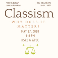 Classism: Why does it matter?