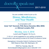 """Doctors Speak Out """"Stress, Mindfulness, and Your Health"""""""