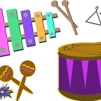 Musical Instrument Petting Zoo - Main Library