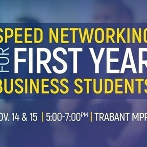 2018 Speed Networking for First Year Business Students