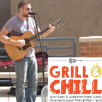 Grill & Chill Series at Common Grounds Patio: Tim Harakal | Dining Services
