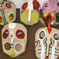 Cultures Up Close: Masks Revealed
