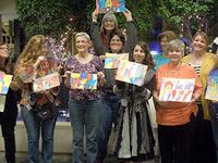 Art Social ~ C'est tres bon! Pastel a la Toulouse-Lautrec