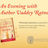 An Evening with Vaddey Ratner Author of In The Shadow of the Banyan