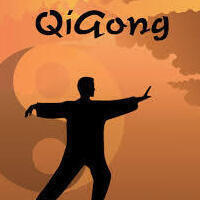 Qigong with Dr. Santee in Henry Hall Courtyard