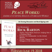 Book Signing - Peace Works: America's Unifying Role in a Turbulent World