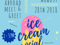 Study Abroad Ice Cream Social