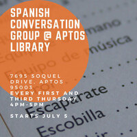 Spanish Conversation Group @ Aptos Branch Library
