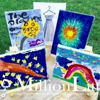 Make a difference by painting with Million Little!
