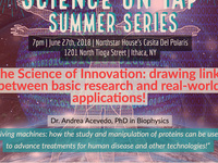 """Science on Tap Summer Series: """"The Science of Innovation!"""""""