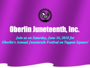 Juneteenth Oberlin