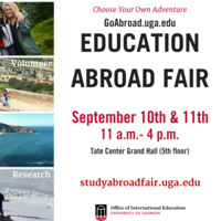 Study Abroad Fair: Day 2